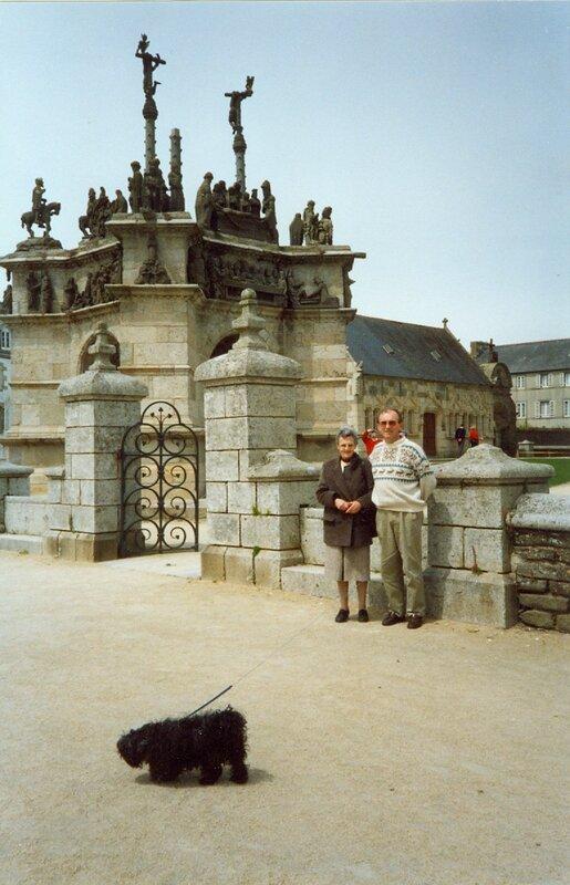 1991-05 Port-Launay Camille - Patrice a Pleyben