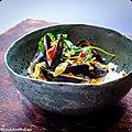 Moules au curry thaï