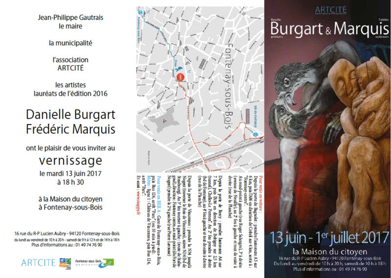 expo Danièle Burgart