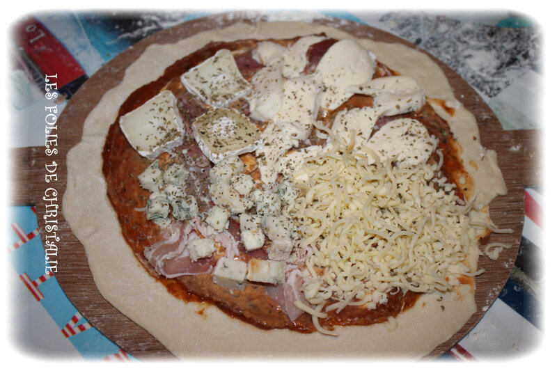 Pizza 4 fromages 2