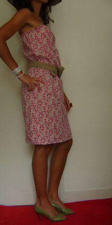 robe fleurs roses 2ret