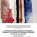 Exposition marcq-en-baroeul (france) du 10 au 26 novembre 2017