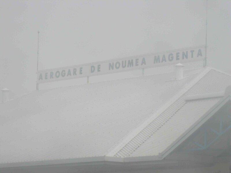Depart de Nouméa