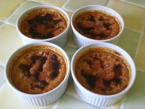 Crème brûlée à la chicoré