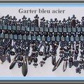 Garter bleu acier