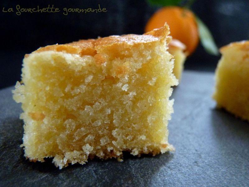 Moelleux A La Fleur D Oranger La Fourchette Gourmande