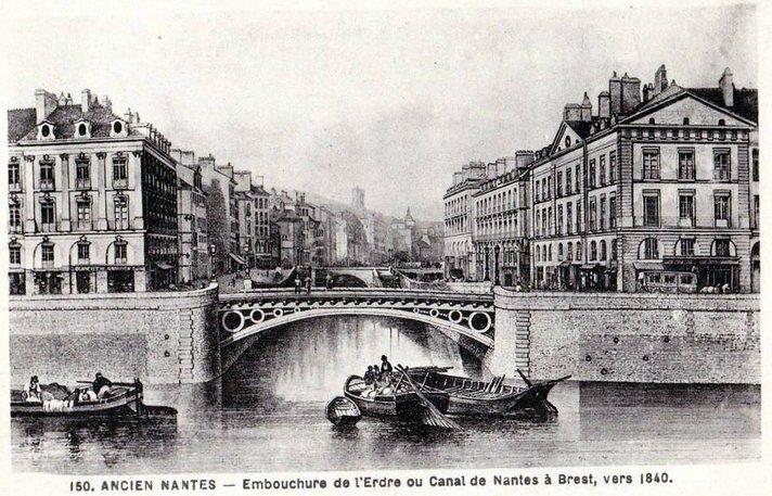 Ancien Nantes - Embouchure de l'Erdre