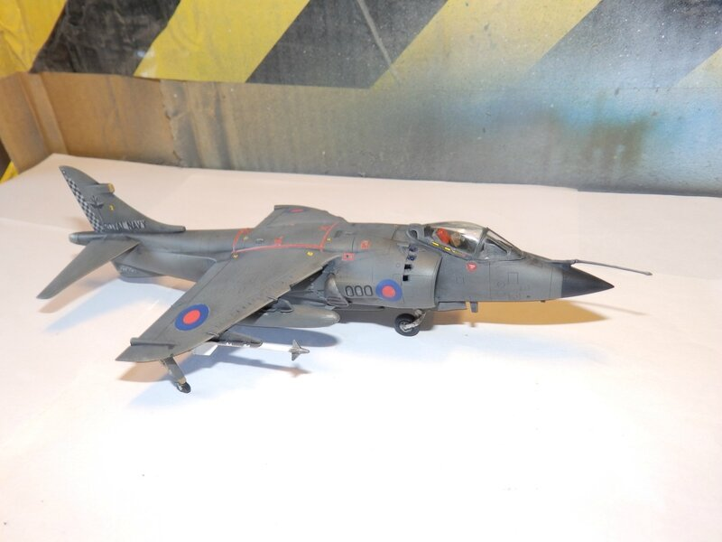 BRITISH AEROSPACE SEA HARRIER FRS.1 HMS INVINCIBLE ENFIN FINI!!!!!!!