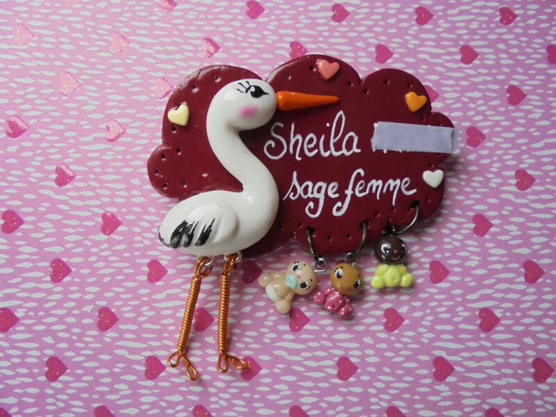 badge cigogne sheila
