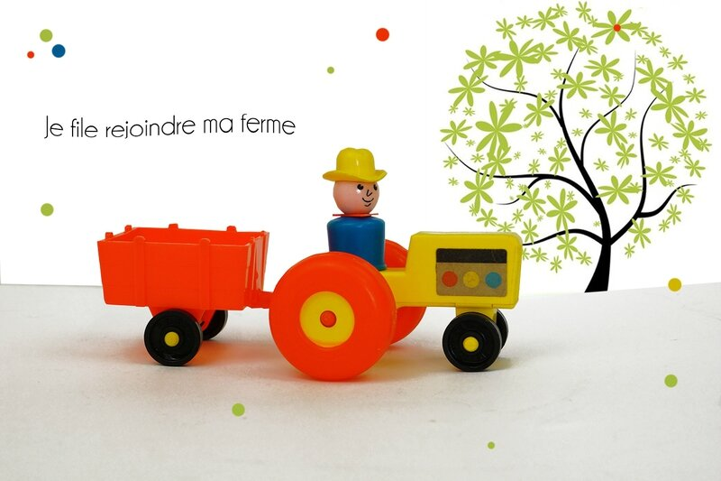 Le fermier fisher price