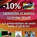 Partenariat cartridge world
