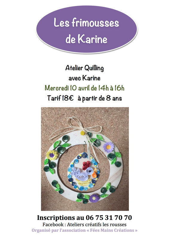 quilling 10 avril