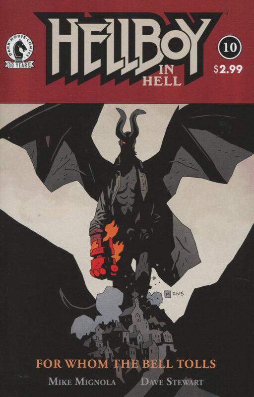 dark horse hellboy in hell 10