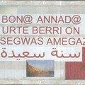 Bouno annado ! (voeux en plusieurs langues)