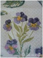 Fleurs tissu 1