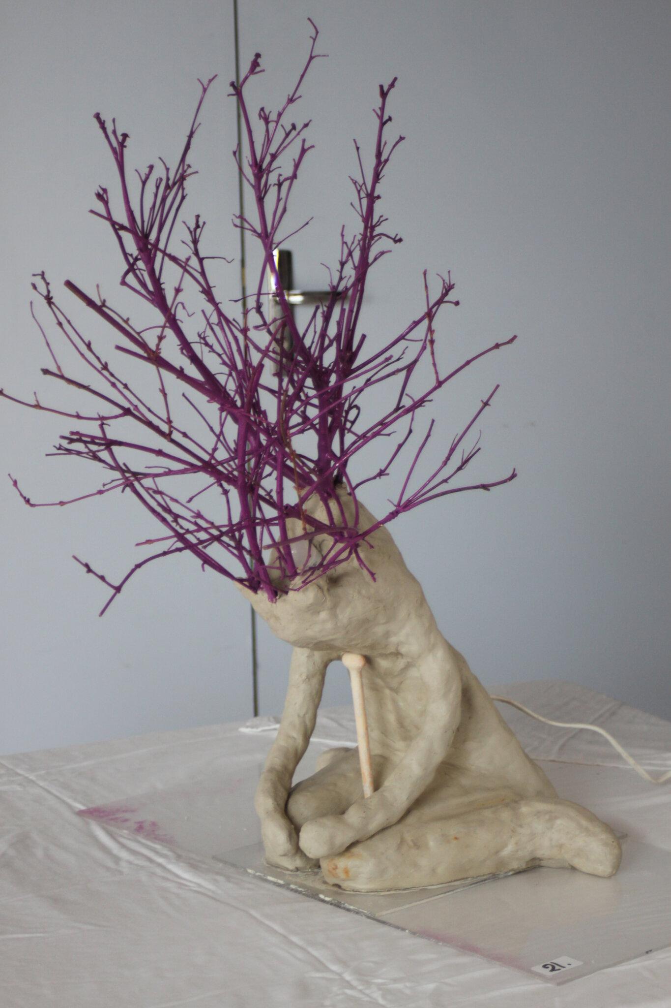 sculpture lampe de Corinne Paragot