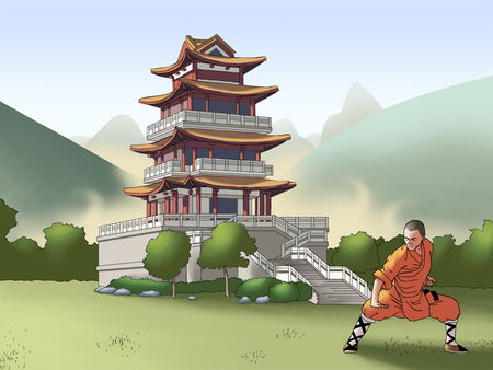 wallpaper_pagode_shaolin