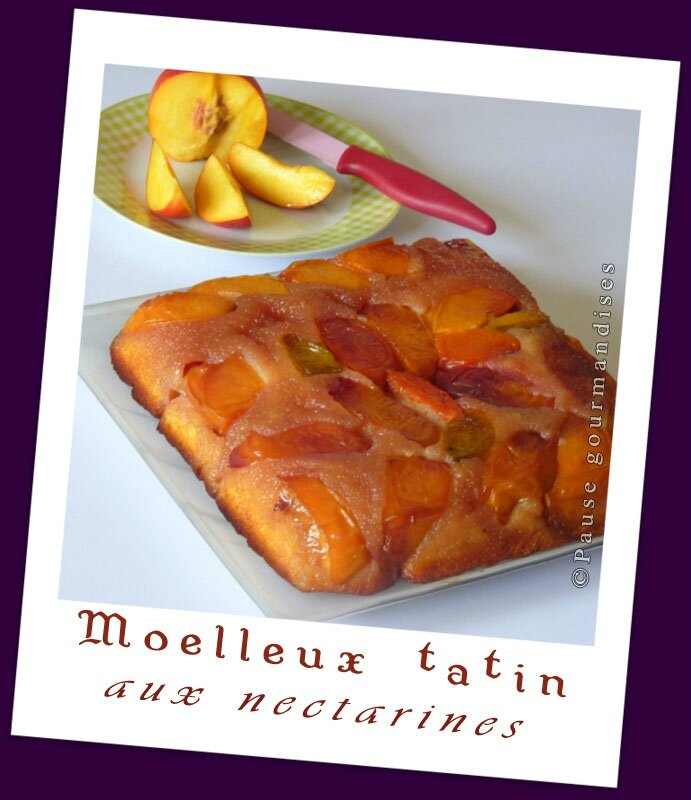 Moelleux tatin aux nectarines (23)