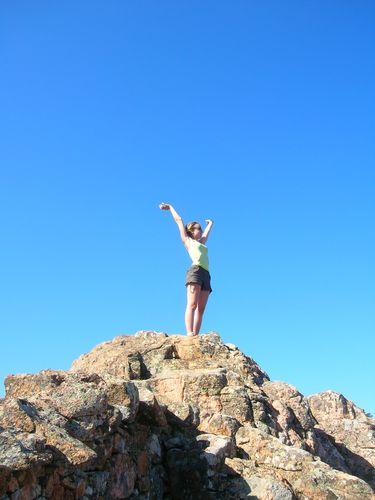 Je croyais être au sommet, mais on en était bien loin !