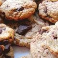 Cookies aux pépites de chocolat .