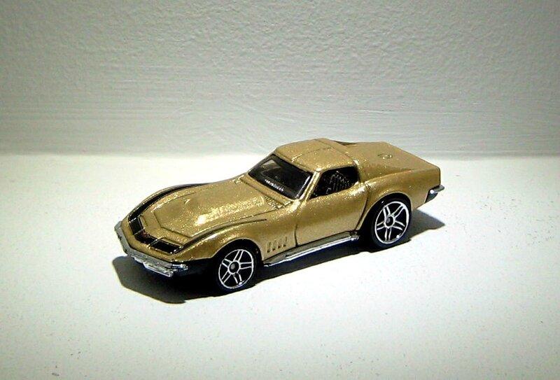 Chevrolet corvette de 1969 (2006)(Hotwheels)
