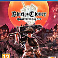 Black Clover PS4