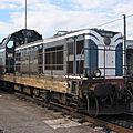 BB 66128 avec ses 'moustaches', dépôt de Bordeaux