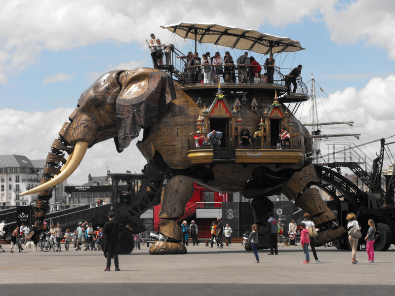 Éléphant des machines de l'ile à Nantes