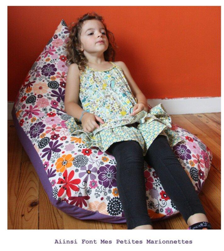 fauteuil pouf 2
