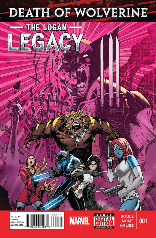 death of wolverine the logan legacy 01