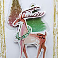 Carte au cerf - deer card