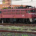 Hamanasu + ED 79, Aomori terminal station