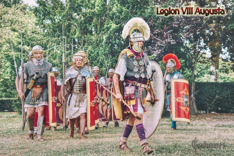 Legion VIII AUGUSTA - La ferme royale de Javarzay (Chef-Boutonne) Les Romains aux Francs - Clotaire Ier de saint Junien à Nouaillé
