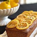 Cake moelleux au citron sans gluten