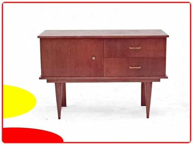commode meuble tv coiffeuse vintage