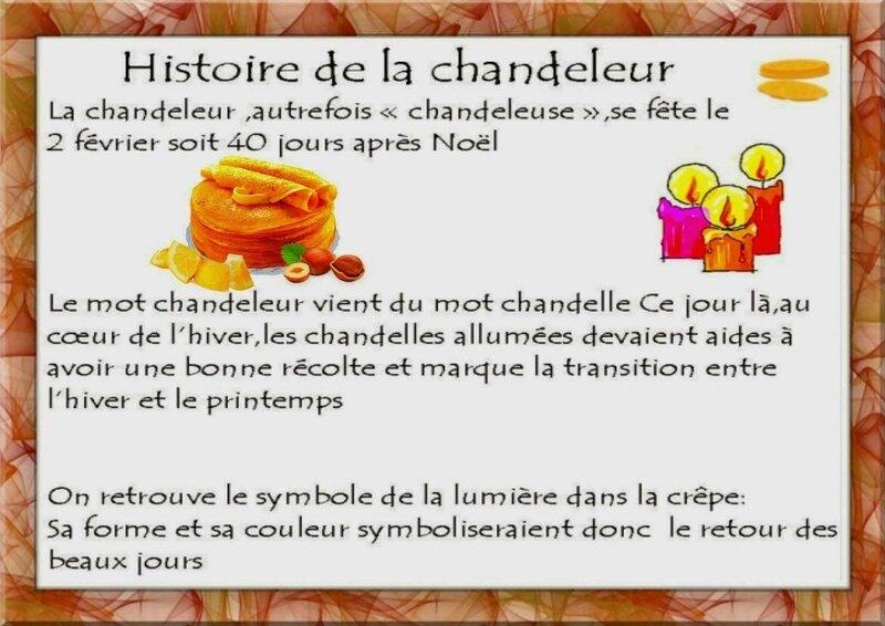 histoire chandeleur