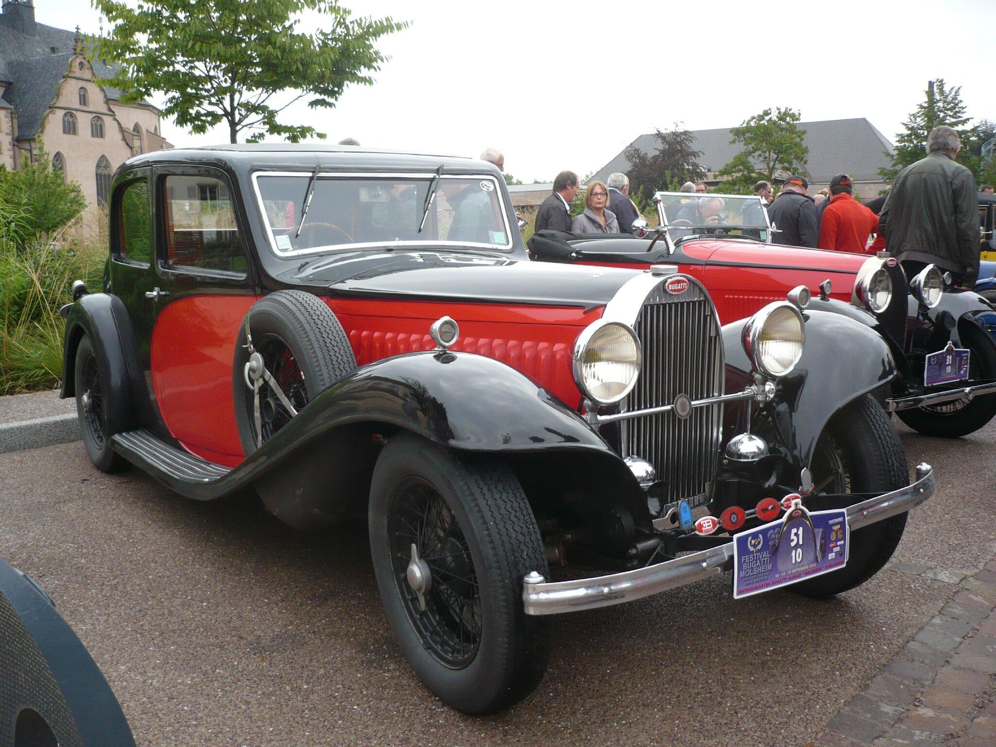 BUGATTI type 57 Galibier 1934 Molsheim (1)
