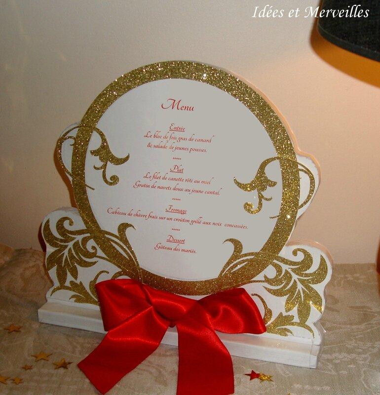 porte menu mariage conte de fées - idees et merveilles3