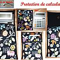 protection de calculatrice