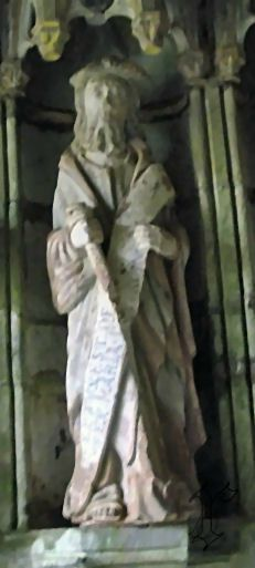 4_église ND de Rumengol_statue St Jacques