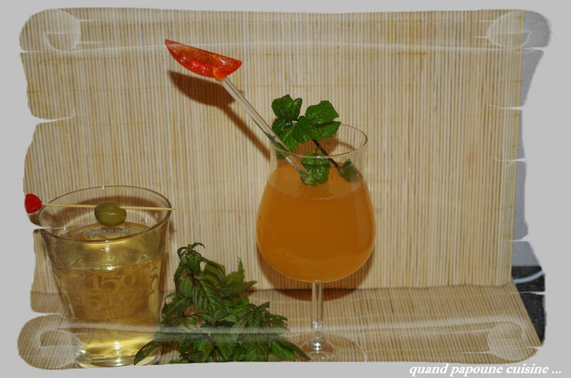 COCKTAIL VODKA-MANGUE