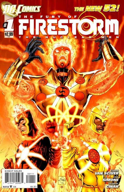 fury of firestorm 1
