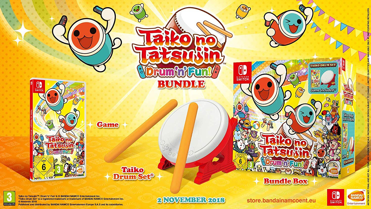 Taiko switch