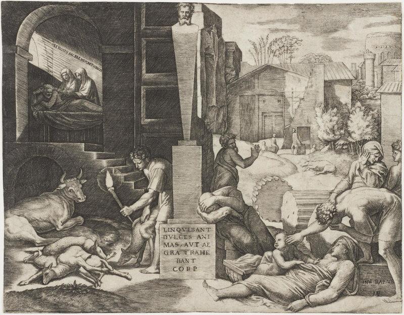 Marcantonio Raimondi after Raphael
