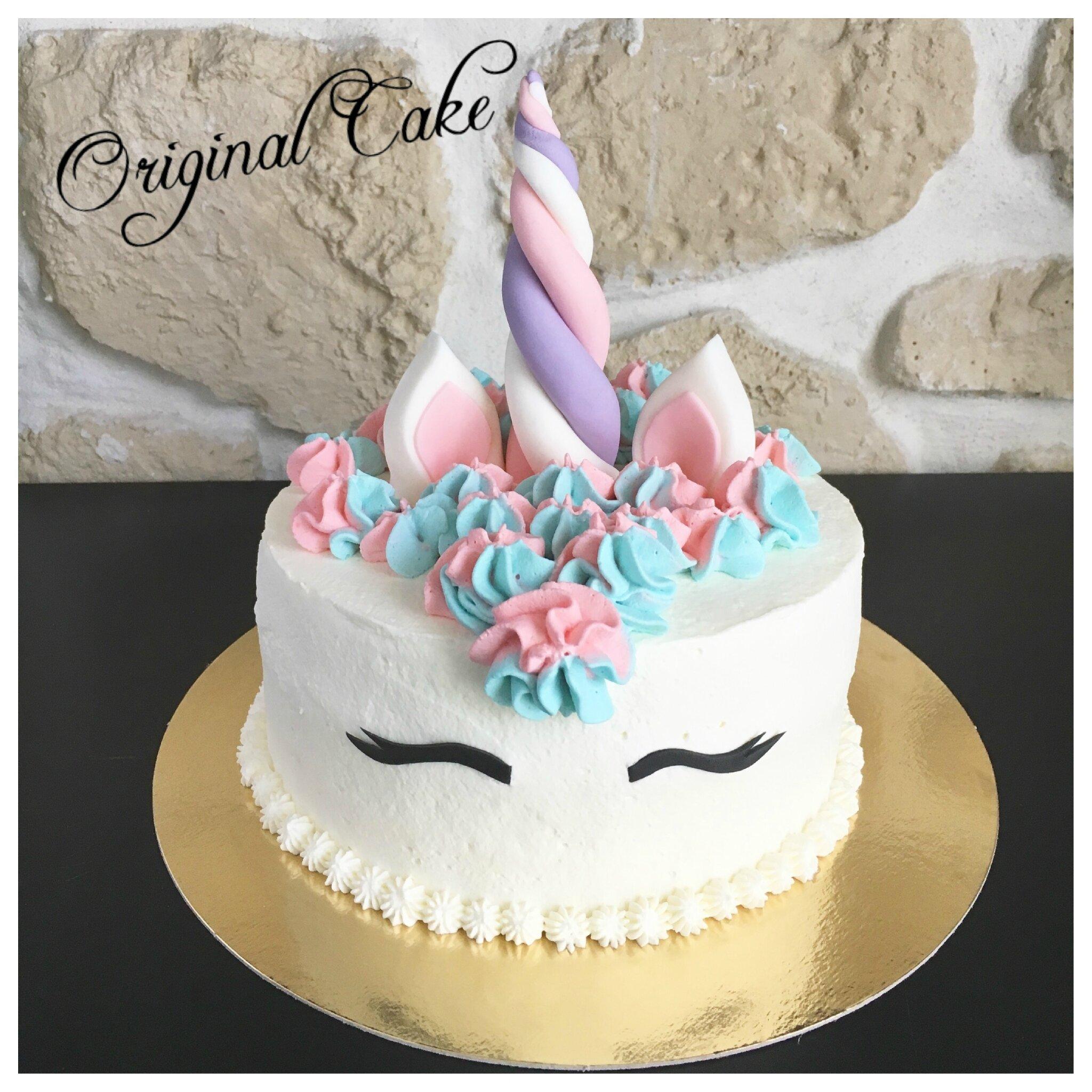 Gteau Thme Licorne Original Cake
