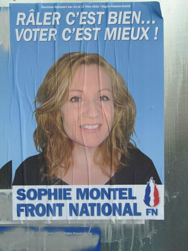 Sophie Montel affiche