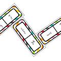 Conjugaison - présent - jeu de domino 1
