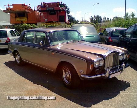 Rolls Royce silver shadow berline de 1977 (Illkirch) 01