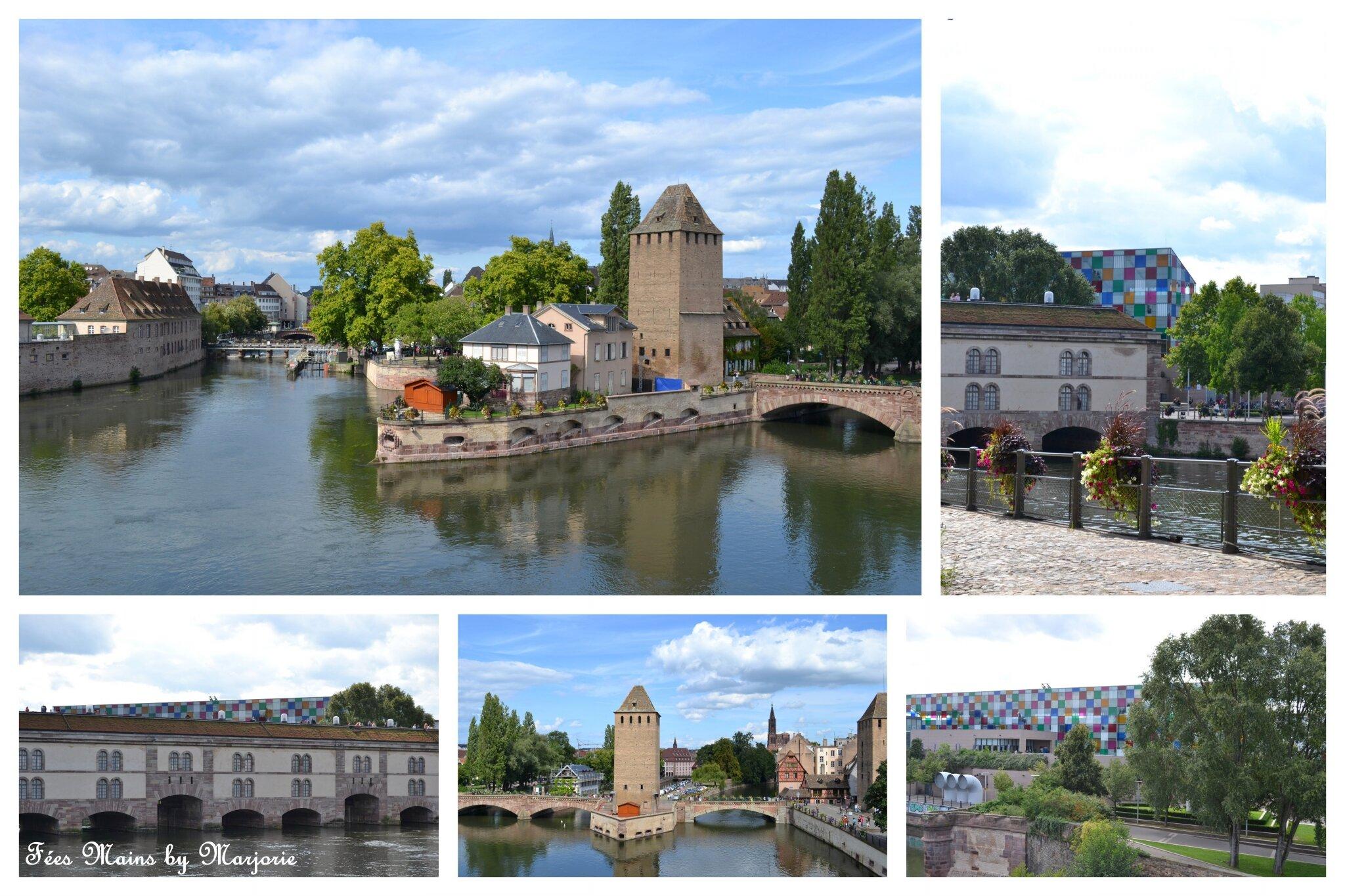 Barrage Vauban, Ponts couverts et MAMCS Strasbourg