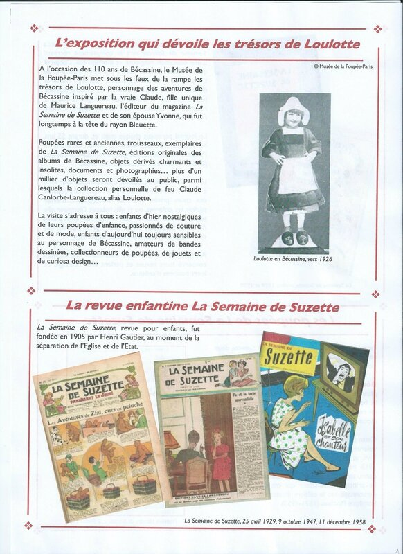 dossier presse BECASSINE1